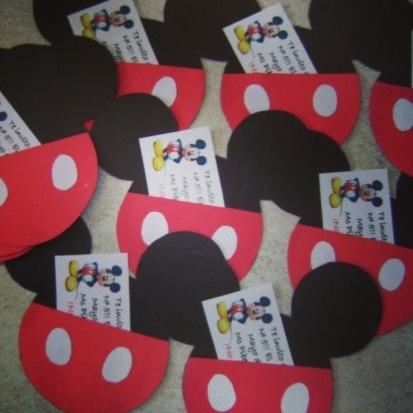 Ideas de decoración para una fiesta infantil de Mickey Mouse… |